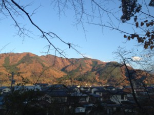 坂田山遠景